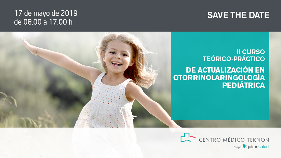 Save the date orl teknon 1