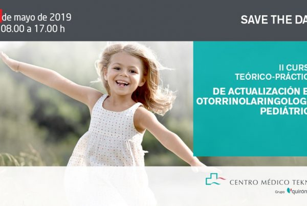 Save the date orl teknon